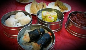 Delightful array of Dim Sum