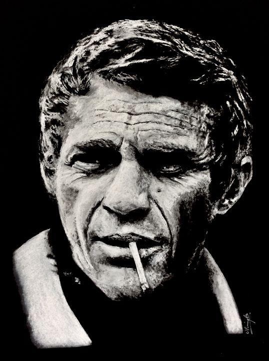 McQueen smoking - Olivier Pringal