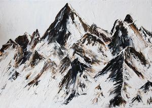 Mountains 70x50 cm