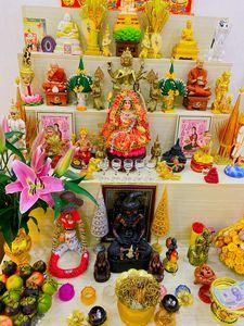 Buddha Statues On Display.