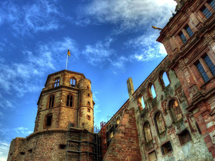 Tower of Schloss Heidelberg - Darin Williams Photography