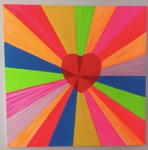 A little Heart in a Diagonal world..