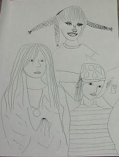3 women - Benedicte Gauthier