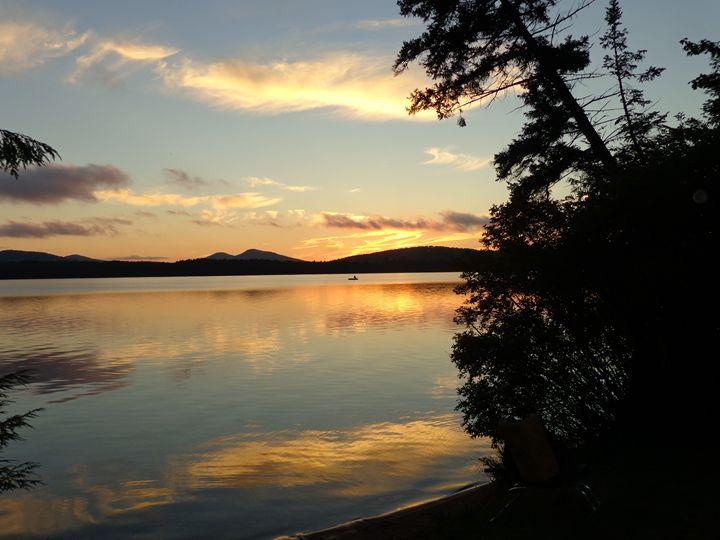 Evening serenity - Brian's art