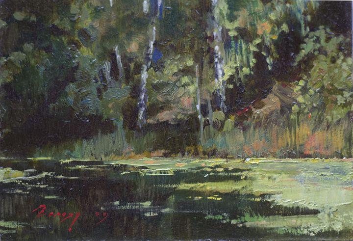 Landscape by Bogdan Goloyad 12x17 - Bogdan Goloyad