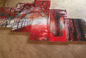 Red Autumn Walk
