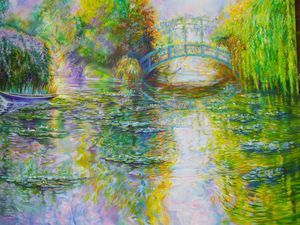 Morning, Giverny