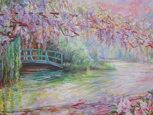 Wisteria, Giverny