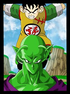 YOUNG GOHAN AND PICCOLO