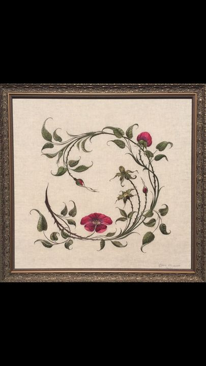 Handmade embroidery - Natalya Rudaya