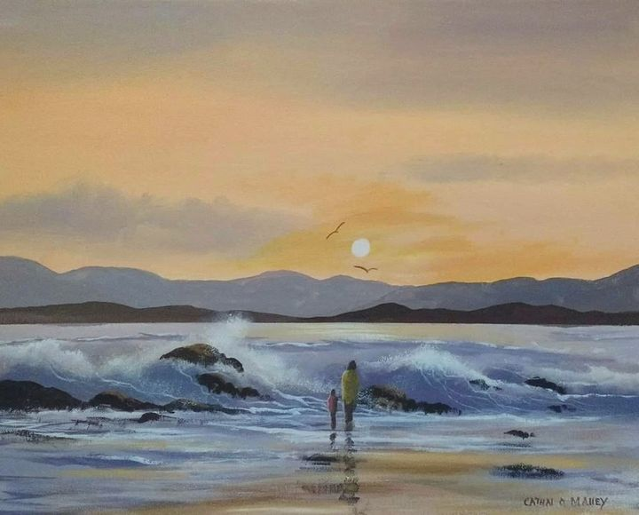 roundstone waves - cathal o malley