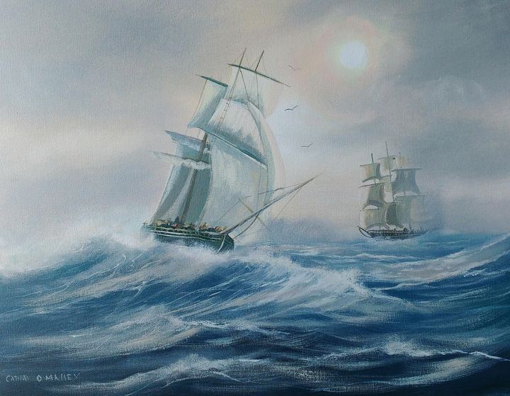 atlantic ships - cathal o malley