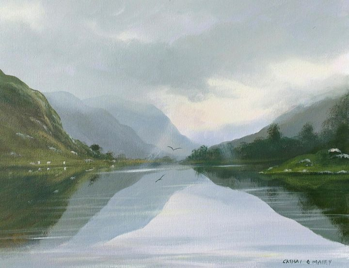 glendalough reflections - cathal o malley