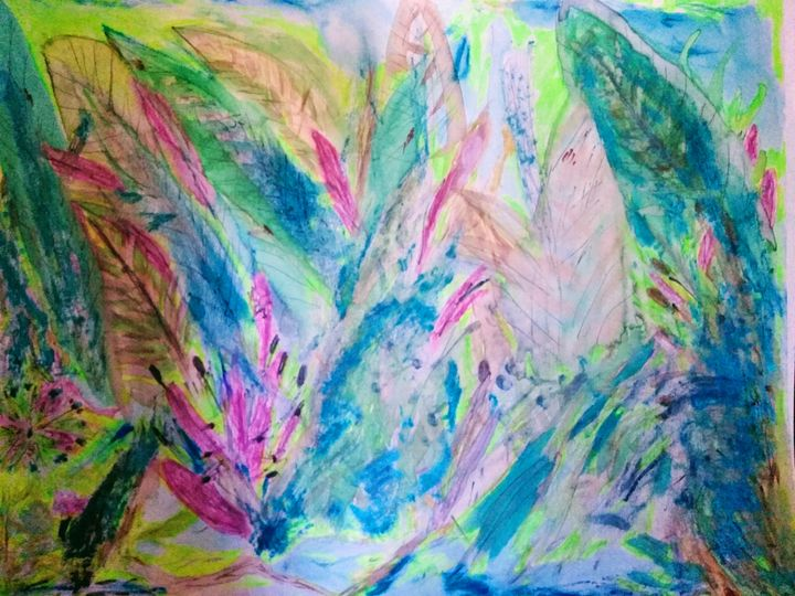 Garden Delight - EcLectic Thunder of Catherine's Artistry