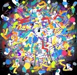 A eclectic Abstract of Bright colors