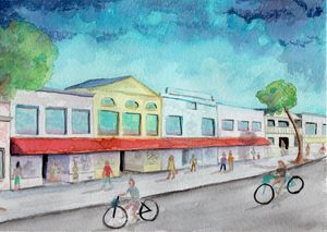 Summer on Duval Street - 7 Mile Watercolors