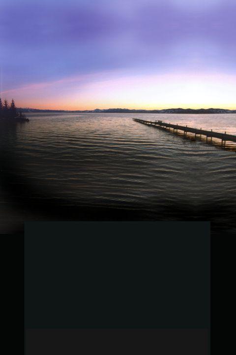 Lake Tahoe Signed Poster - Richard Nodine