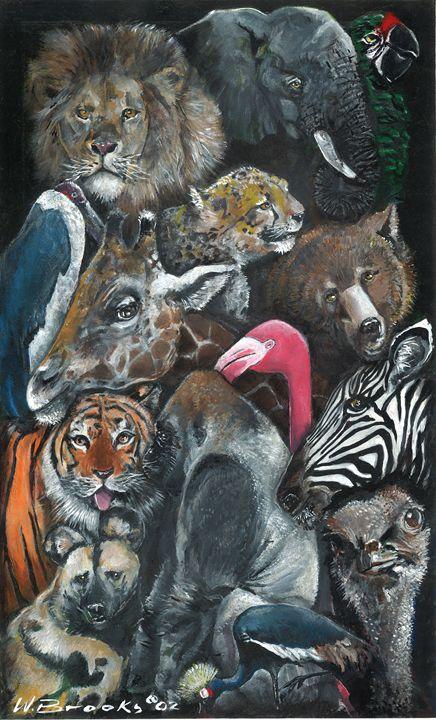 Animal Mural - Wendell Brooks