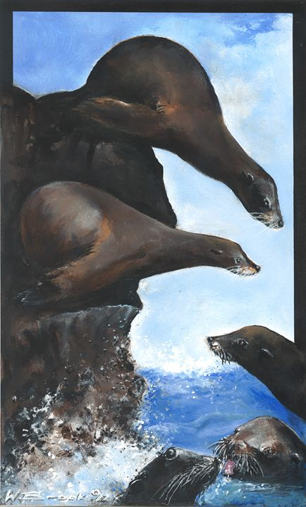 Sea Lions - Wendell Brooks