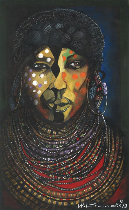 African Facemask - Wendell Brooks