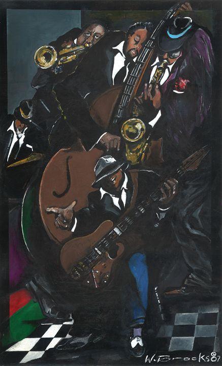 The Jazz Band - Wendell Brooks