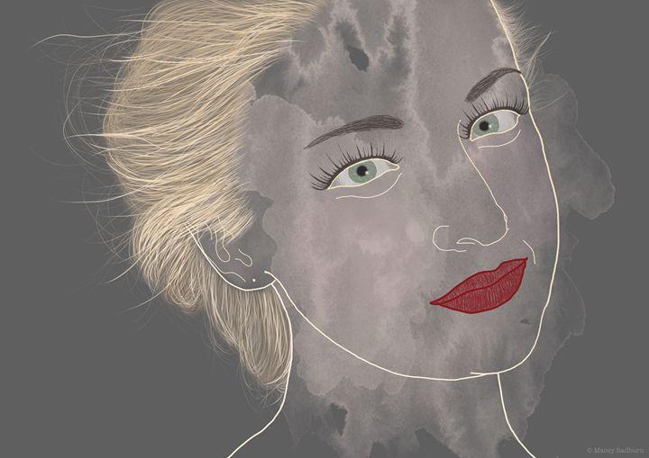 Kate Miller-Heidke - Contemporary illustrated portraits