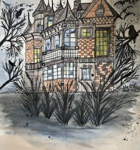 Shes a haunted house by mysticladyar