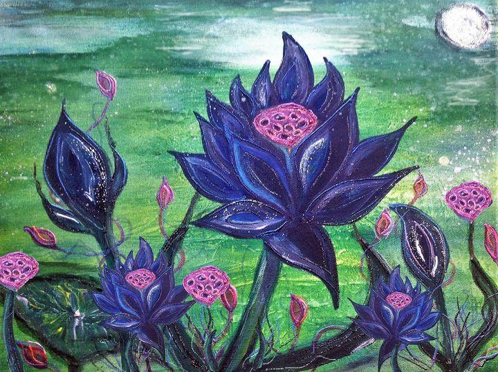 black lotus magic - mysticladyart