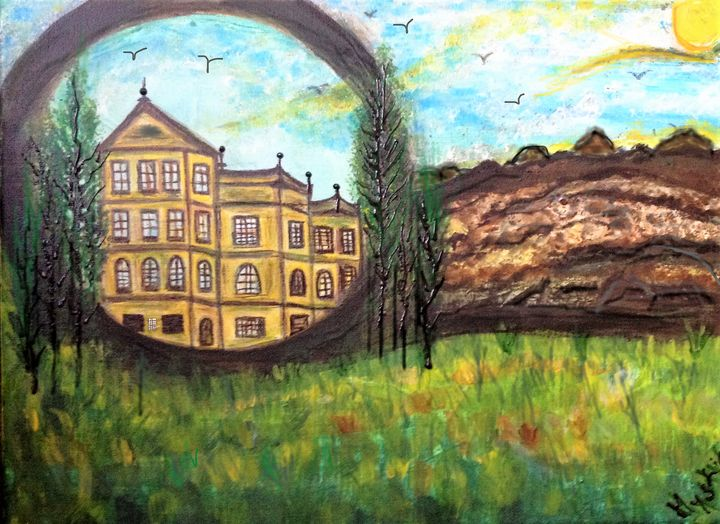 the orphanage fine art - mysticladyart