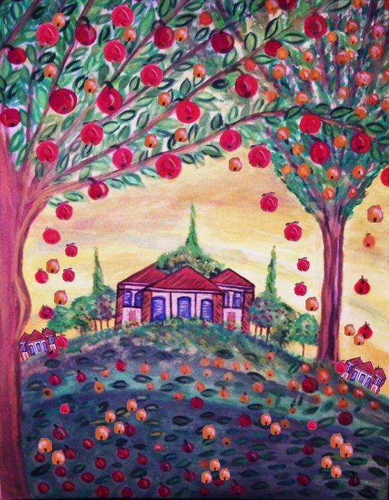 dream house fruit orchards - mysticladyart