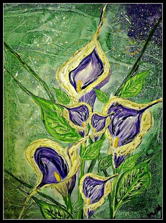 lilly fine art by mysticladyart - mysticladyart
