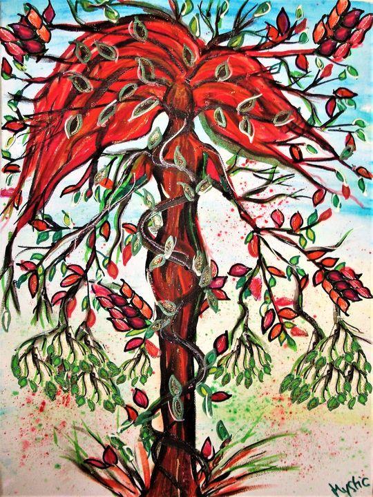 poison ivy tree - mysticladyart