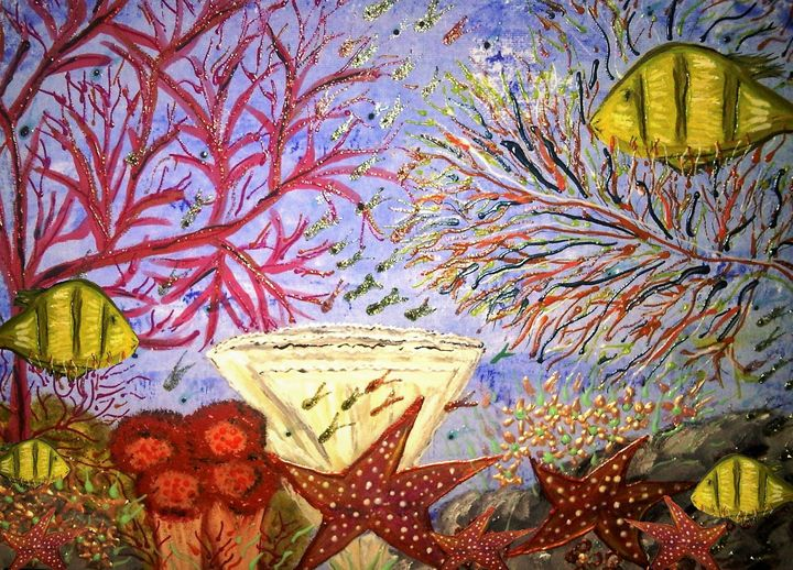 save our reefs - mysticladyart