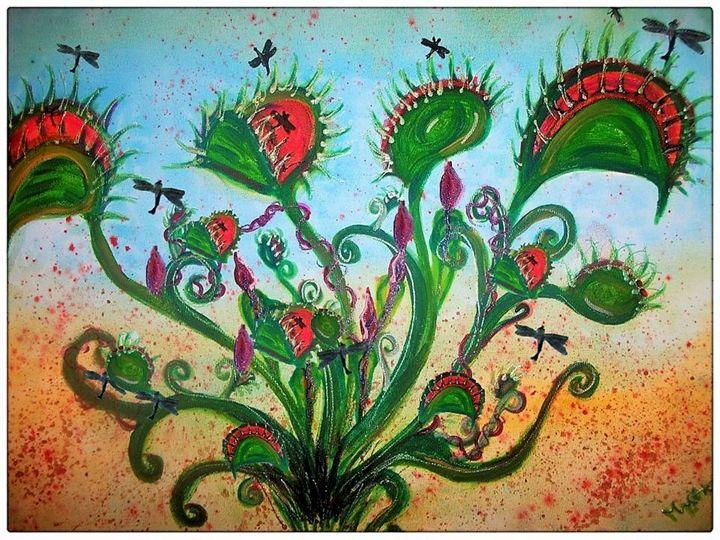 venus fly trap - mysticladyart