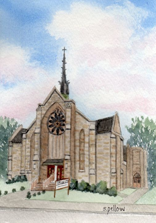 United Methodist Church - WatercolorsbySandy