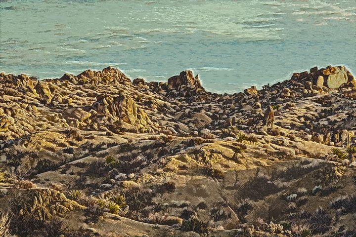 Desert Rocks Art - Deekim