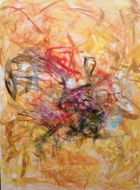 Bouquet - Jennifer Bakker Abstract Expressionist Paintings
