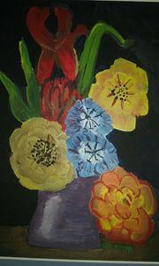 Tin vase - Studio 3B