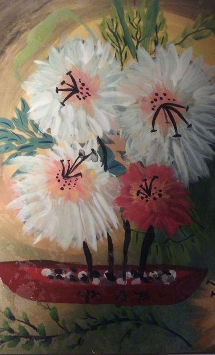 firework flowers - Studio 3B