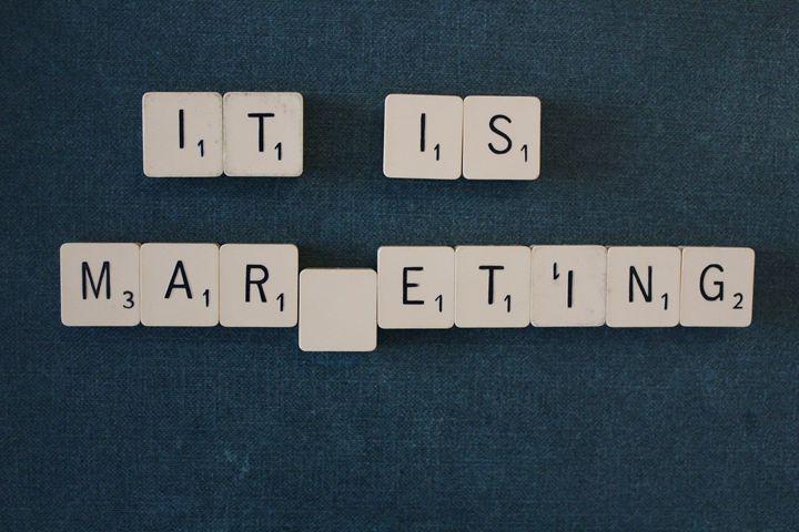 it is marketing scrabble text - SHOPPINGUSA