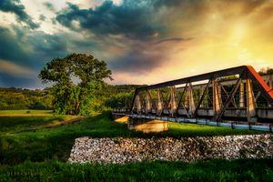 The bridge on the river Jasenica