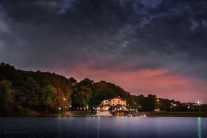 Small Hotel on the lake
