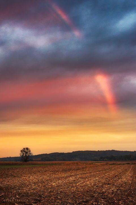 Sunset rainbow - Dejan Travica