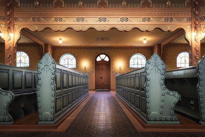 Side door of the Subotica synagogue - Dejan Travica