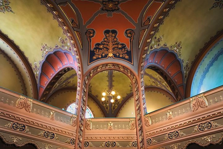 The vaults of the Subotica synagogue - Dejan Travica