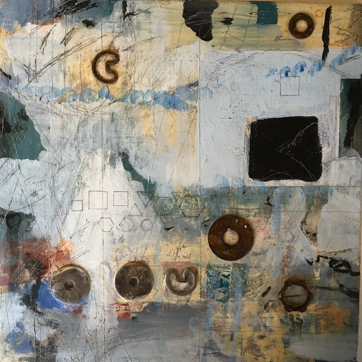 Fasten Mixed Media - Judy Bird