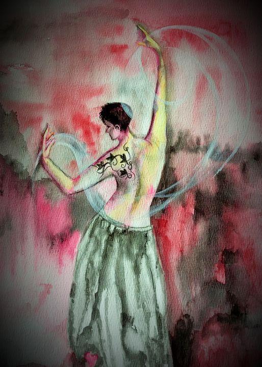 Dancing Aura - Sumes art