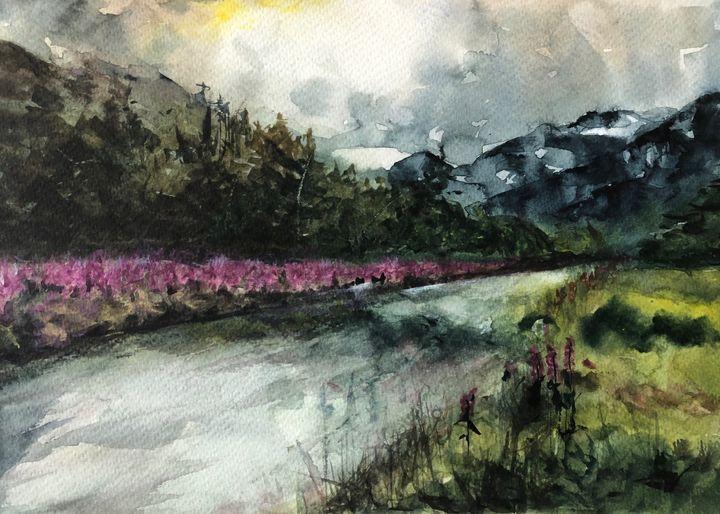 Snow Mountain Valley - Sumes art