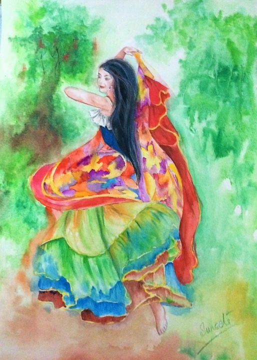 Gypsy Dance - Sumes art