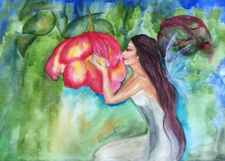 Flower Angel - Sumes art